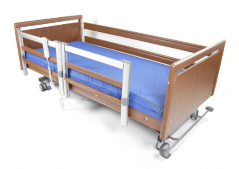 Elba Care Bed Split Side Rails